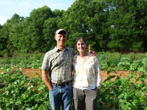 Sammy and Melinda Koenigsberg of New Town Farms