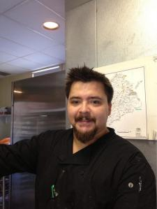 Chef Nicolas Daniels from The Wood Vine Bar & Bistro