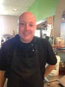 Chef Paul Ketterhagen from Carpe Diem Restaurant and Caterers