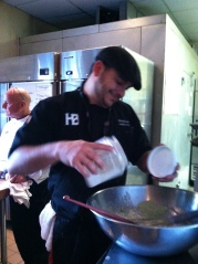Chef Rob Masone form Heitz Brewery