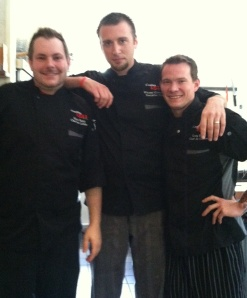 Team Cantina 1511: From left, Chef Kyle Biddy, Chef Vincent Giancarlo and Chef Greg Balch