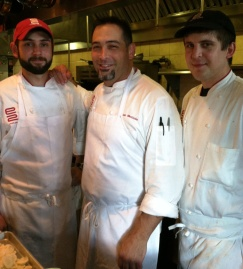 Chef brian Mottola and the team from e2