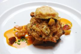 Course 3 from Chef Bruce Moffett of Barrington's Restaurant