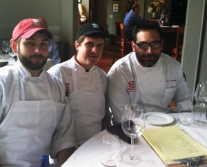 team e2 Emerils Eaters with chefs