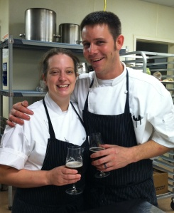Chefs  John and Lucia Bobby