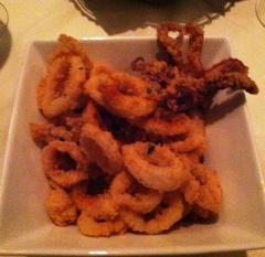 Bonterra's crispy calamari