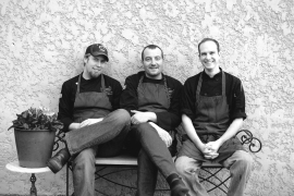The team at Passion 8 Bistro