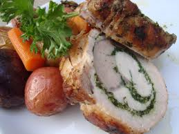 The classic Roman entrée, Porchetta