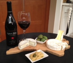 The NC cheese plate with Bonterra's hummus and olives along with offerings from Goat Lady Dairy, Chapel Hill Creamery and Looking Glass Creamery paired with 1 or 2 of the 200 wines by the glass is a great way to start an evening at Bonterra