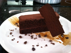 Patty Greene's chocolate Espresso cake at The Asbury