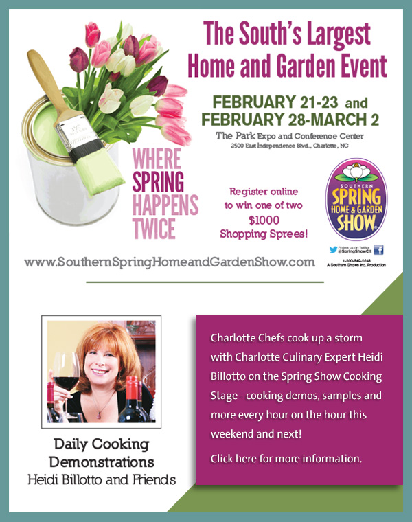 Southern Spring Home And Garden Show Heidi Billotto Food