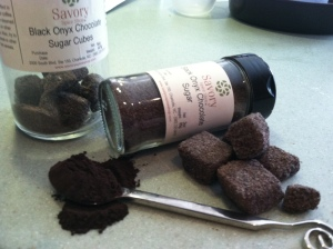 Delicious Black Onyx cocoa powder and sugar from the Savory Spice Shop SouthEnd in Charlotte NC