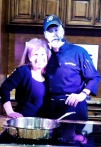 Heidi with Chef Bill Bigham