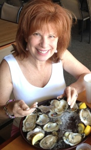 I ate my weight n fresh caught oysters while Tom and I were  in the Florida panhandle last year - This year all we have to do is go to Upstream!