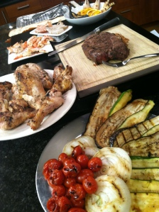 The entire grilled spread from the May 20 2014 segment at WCNC's Charlotte Today