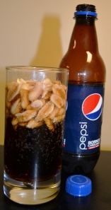 pepsi and peanuts