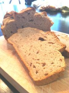 gluten free chestnut flour bread