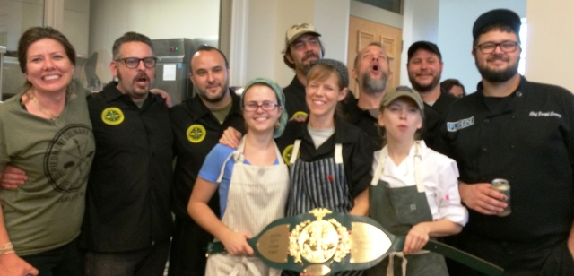 The Queen City Championship Team from Piedmont Culinary Guild in Charlotte