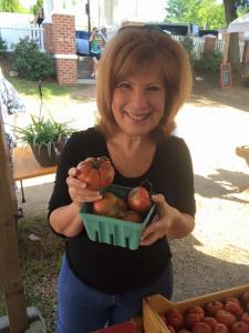 heidi with Julia Child tomatoes