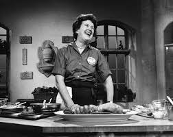 julia child on set