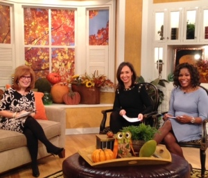 On set talking restaurants with Charlotte Today's Colleen Odegaard and guest co host Ramona Holloway