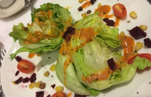 A delicious take on The Wedge salad from the chefs at The Spedway Club at Charlotte Motor Speedway