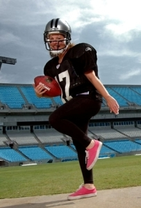 Heidi's football shot