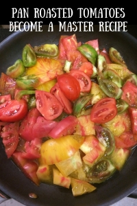 pan roasted tomatoes